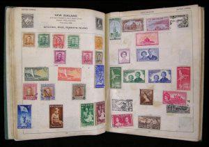 John Lennon Stamp Album