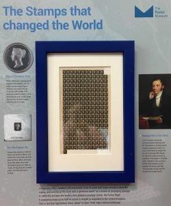 Penny Black Stamp Display